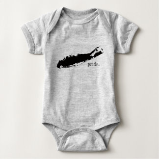 Long Island Pride New York Baby Bodysuit