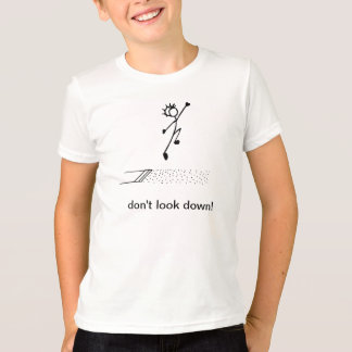 "Long Jump ""don't look down!"" Track and Field T-Shirt"