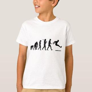 Long Jumper long jumping evolution kids athletic T-Shirt