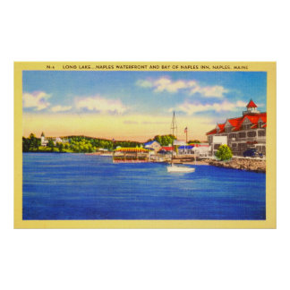 Long Lake - Naples Waterfront & Bay of Naples Inn Poster