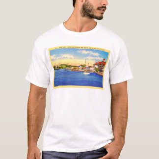 Long Lake - Naples Waterfront & Bay of Naples Inn T-Shirt