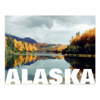 Long Lake State Park Alaska Postcard