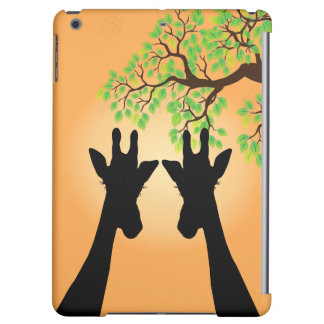 Long Lash Giraffes Cover For iPad Air