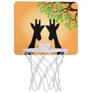 Long Lash Giraffes Mini Basketball Hoop