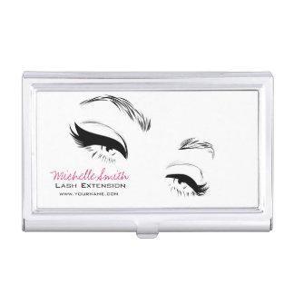 Long lashes Lash Extension Eyeliner branding Business Card Holder