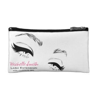 Long lashes Lash Extension Eyeliner branding Cosmetic Bag