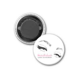 Long lashes Lash Extension Eyeliner branding Magnet