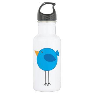 Long Legged Blue Bird Cartoon