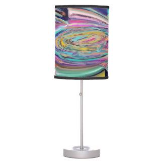 Long Liquid Colours Table Lamp