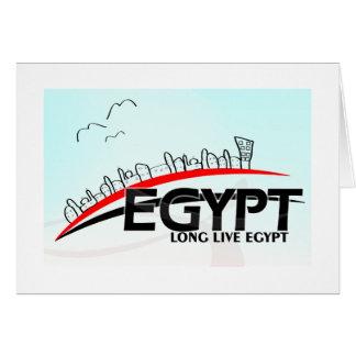 Long Live Eqypt Card