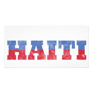 Long Live Haiti Photo Greeting Card