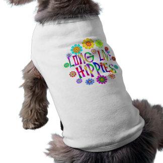 Long Live Hippies Pet Tshirt