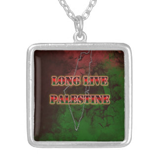 Long Live Palestine Necklace