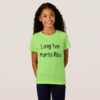 Long live Puerto rico in sketch script T-Shirt