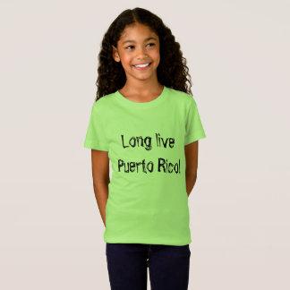 Long live Puerto Rico rustic font T-Shirt