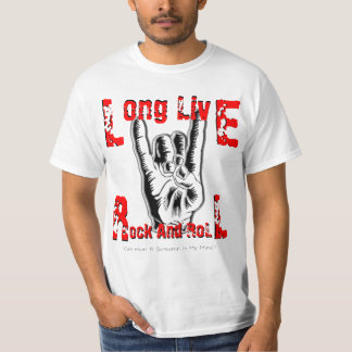 Long Live Rock And Roll (RJD Tribute T-Shirt) T-Shirt
