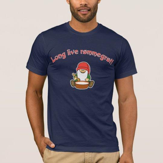 Long Live Rømmegrøt! (Rommegrot) T-Shirt