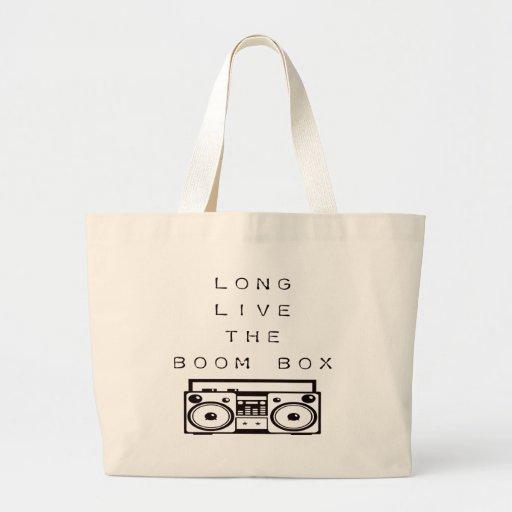 Long Live The Boom Box-Bag