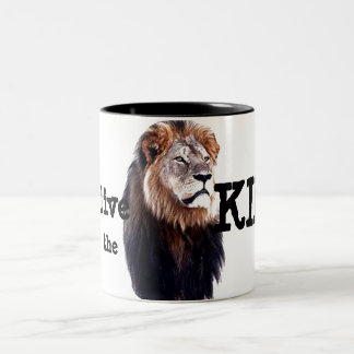 Long live the King! Two-Tone Coffee Mug