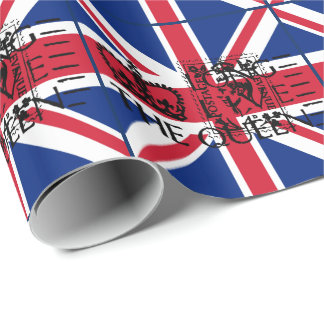 Long Live The Queen Wrapping Paper