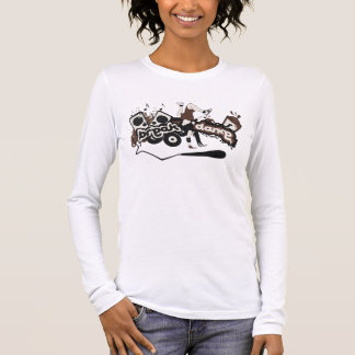 "Long mango feminine ""Break Dance "" Long Sleeve T-Shirt"