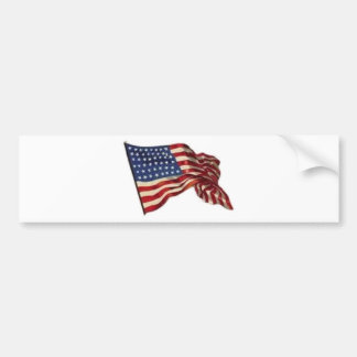 Long May She Wave - Flag Bumper Sticker