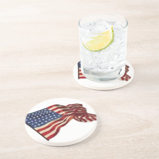 Long May She Wave - Flag Drink Coaster