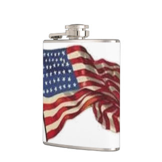 Long May She Wave - Flag Hip Flask