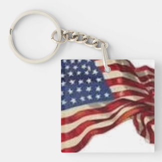 Long May She Wave - Flag Keychain
