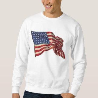 Long May She Wave - Flag Sweatshirt