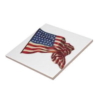 Long May She Wave - Flag Tile