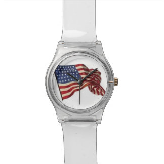 Long May She Wave - Flag Wrist Watches