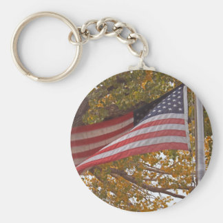 Long May She Wave Keychain