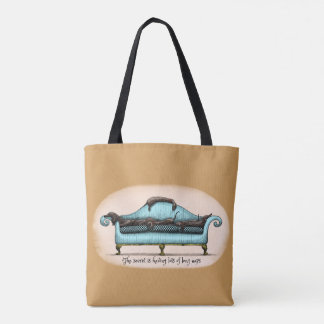 long naps tote bag