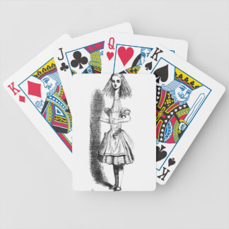 Long Neck Alice Bicycle Playing Cards