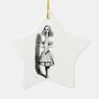 Long Neck Alice Ceramic Ornament