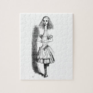 Long Neck Alice Jigsaw Puzzle