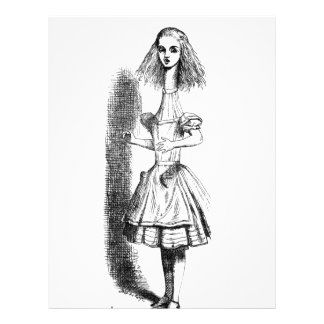 Long Neck Alice Letterhead