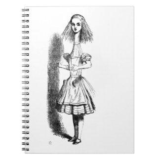 Long Neck Alice Notebook