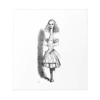 Long Neck Alice Notepad