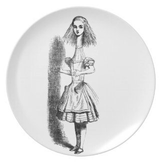 Long Neck Alice Plate