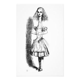 Long Neck Alice Stationery