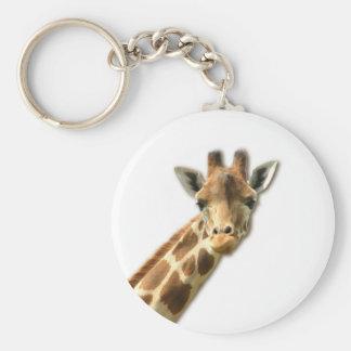 Long Necked Giraffe Keychain