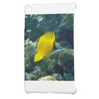 Long Nose Butterfly Fish iPad Mini Cases