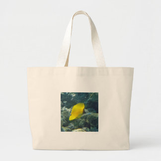 Long Nose Butterfly Fish Jumbo Tote Bag