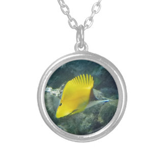 Long Nose Butterfly Fish Custom Necklace