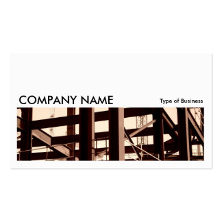 Long Picture 06 - Steel Frame Contruction Business Card Templates
