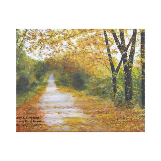 """LONG ROAD HOME' CANVAS PRINT"