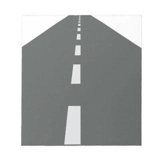 Long Road Notepad