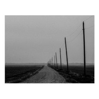 Long Road to No where Postcard